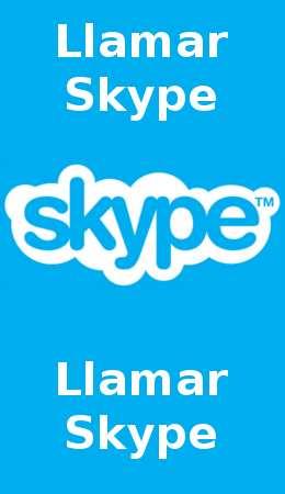 Llamar Skype