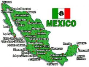 tarjeta de Mexico