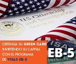 Visa Americana de Inversionista EB5
